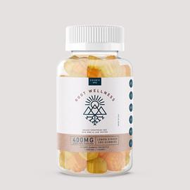 Root Wellness 400mg Broad Spectrum CBD Gummies - 20ct