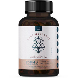 Root Wellness 750mg Broad Spectrum CBD Softgel Capsules 30ct