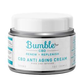 Bumble CBD 500mg Pure CBD Infused Anti Aging Cream 1oz