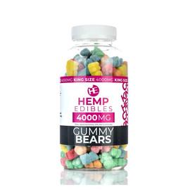 Hempables Hemp Edibles 4000mg CBD Gummies - 32oz