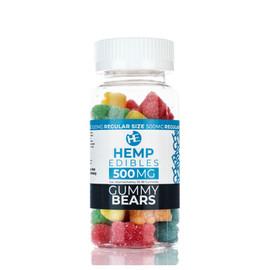 Hempables Hemp Edibles 500mg CBD Gummies - 4oz