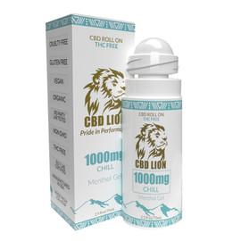 CBD Lion 1000mg CBD Roll On Chill Menthol Gel