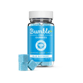 Bumble CBD 1000mg CBD Infused Gummies 40pcs - Blue Raspberry