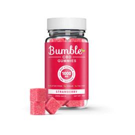 Bumble CBD 1000mg CBD Infused Gummies 40pcs - Strawberry