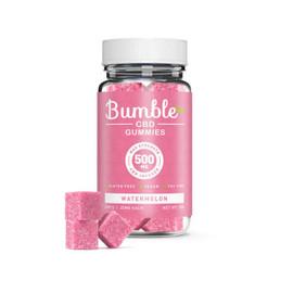 Bumble CBD 500mg CBD Infused Gummies 20pcs - Watermelon
