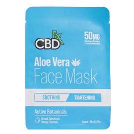 CBDfx 20mg Aloe Vera Hemp Face Mask