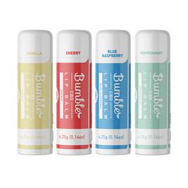 Bumble CBD 20mg CBD Lip Balm 4 Flavors - Variety Pack Of 24