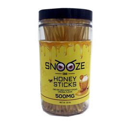 Snooze CBD 500mg CBD Infused Honey Sticks - 50ct