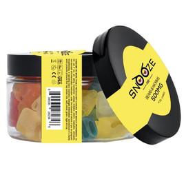 Snooze CBD 500mg CBD Gummies 8oz - Clear Bears,Clear Worms,Rainbow Bites,Watermelon Slices