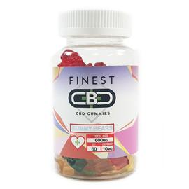Finest CBD 600mg CBD Infused Gummy Bears
