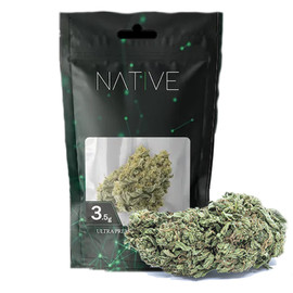 Native Ultra Premium Hemp Flower 3.5 Gram Pouch