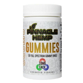 Pinnacle Hemp 500MG Full Spectrum CBD Gummies 50 Count