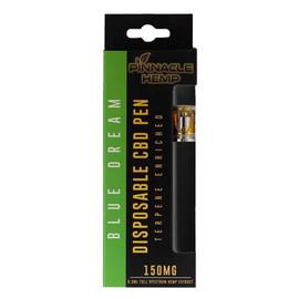 Pinnacle Hemp 150MG Blue Dream CBD Disposable Vape Pen 0.3ML