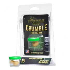 Pinnacle Hemp 400MG Full Spectrum CBD Crumble 1 Gram