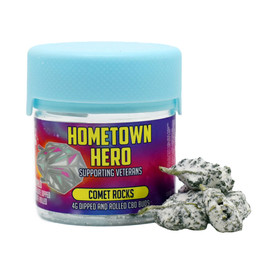 Hometown Hero Comet Rocks CBD Buds 4 Gram Jar