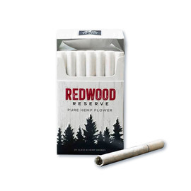 Redwood Reserve 1800MG CBD Hemp Cigarettes Carton of 10 Packs