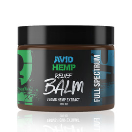 Avid Hemp 750MG Full Spectrum CBD Relief Balm 2 oz