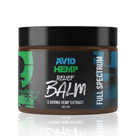 Avid Hemp 3000MG Full Spectrum CBD Relief Balm 2 oz