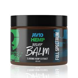 Avid Hemp 3000MG Full Spectrum CBD Relief Balm 2 oz