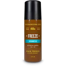 Kore Organic 450MG Isolate CBD Infused Pain Freeze Roll THC Free 3oz - Spearmint Ice