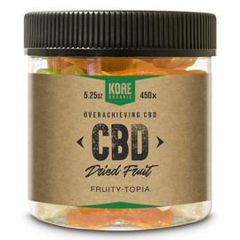 Kore Organic 450MG Isolate CBD Dried Fruit 5.25oz - Fruity Topia