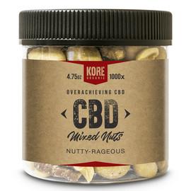 Kore Organic 1000MG Isolate CBD Mixed Nuts 4.75oz - Nutty Rageous