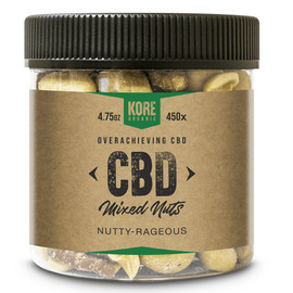 Kore Organic 450MG Isolate CBD Mixed Nuts 4.75oz - Nutty Rageous