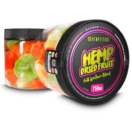 Hemplitude 750MG Full Spectrum CBD Hemp Dried Fruit 16oz - Dried Fruit