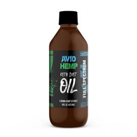 Avid Hemp 1000MG Full Spectrum CBD Hemp Keto Diet Oil 475ML
