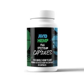 Avid Hemp 15 Grams Full Spectrum CBD Capsules 30 Count - 30 Count