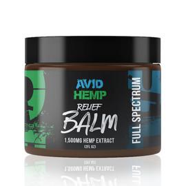Avid Hemp 1500MG Full Spectrum CBD Relief Balm 2 oz