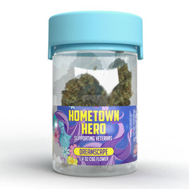 Hometown Hero CBG Flower 7 Gram Jar - Dreamscape