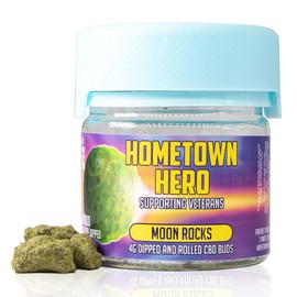 Hometown Hero Moon Rocks CBD Buds 4 Gram Jar - Moon Rocks