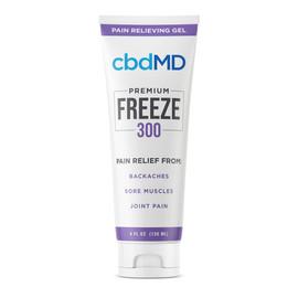 cbdMD 300MG Freeze CBD Infused Pain Gel 120ML - Squeeze