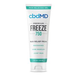 cbdMD 750MG Freeze CBD Infused Pain Gel 120ML - Squeeze