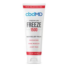 cbdMD 1500MG Freeze CBD Infused Pain Gel 120ML - Squeeze