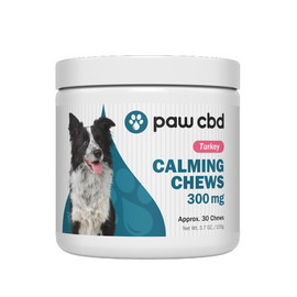 Paw CBD 300mg Calming Chews - 30ct