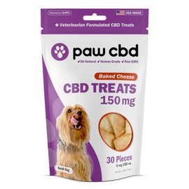 Paw CBD 150mg CBD Dog Treats - 30ct