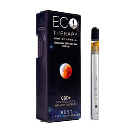 Eco Therapy 500mg CBD Disposable Vape Pen - Rest