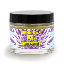 Hometown Hero 600MG Full Spectrum CBD Infused Salve 1.8oz