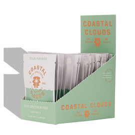 Coastal Clouds Full Spectrum CBD Softgels 2 Count Packs - Display of 20