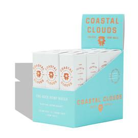 Coastal Clouds CBG-Rich Hemp Rolls Display of 12 Packs of 2