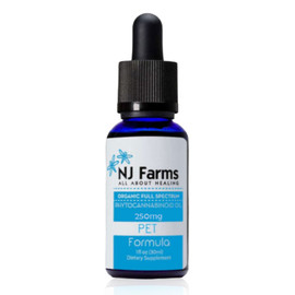 Amberwing Organics by NJ Farms 250MG Full Spectrum CBD Pet Tincture 30ML