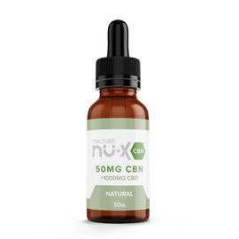 Nu-X 50mg Natural CBN + 1000mg CBD 30ML