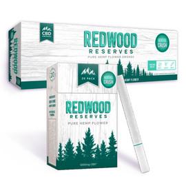 Redwood Reserve 12000MG CBD Hemp Cigarettes Carton of 10 Packs