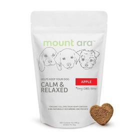 Mount Ara 100MG Full Spectrum Dog Bite 20 Bites - Apple