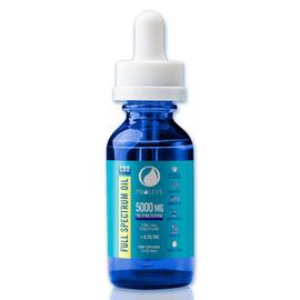Proleve 5000MG Full Spectrum CBD Oil Tincture 30ML - Natural