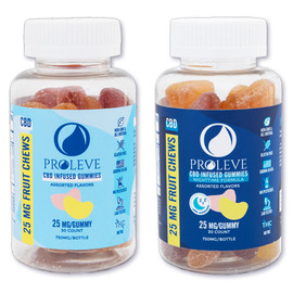 Proleve 750MG CBD Infused Gummies 30 Count