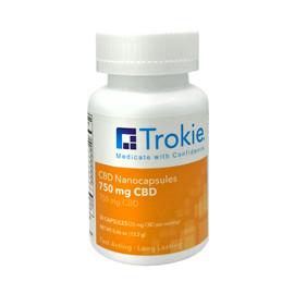 Trokie 750MG CBD Nanocapsules 30 Count