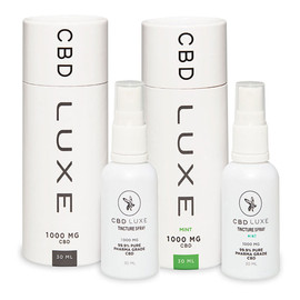 CBD Luxe 12000MG Isolate CBD Tincture Spray 30ML - Assorted Pack of 12